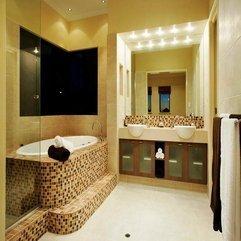 Bathrooms With Mozaic Design Decorating Ideas - Karbonix