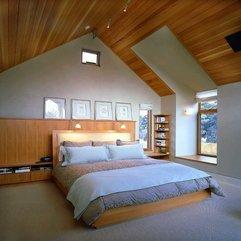 Beautiful Attic Bedroom Wood Decor Interior Makes Your Room Feels Comfort - Karbonix