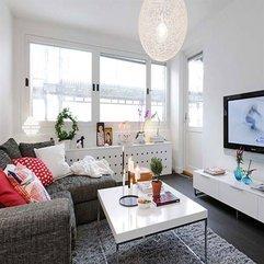 Beautiful Interior Design Of Small Apartment In 7 Floor Building - Karbonix