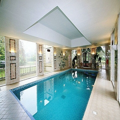 Beautiful Luxurious Indoor Posh Swimming Pool - Karbonix