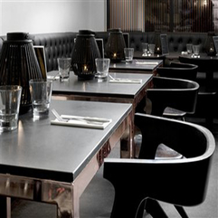 Beautiful Magnificent Black Dining Room Bar Decor Daily Interior - Karbonix