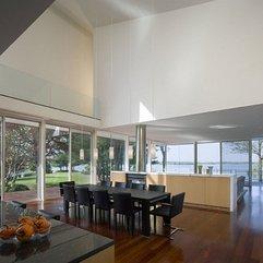 Beautiful Views Lake Modern Kitchen - Karbonix