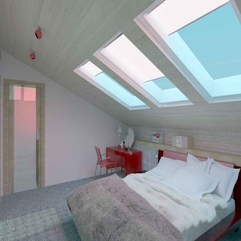 Bedroom Bright Attic - Karbonix