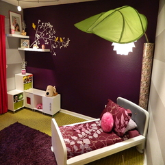Bedroom Design Purple Cool - Karbonix