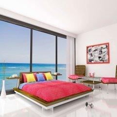 Bedroom Designs New Exclusive Bedroom Design Big Glass Window - Karbonix