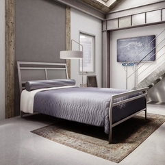 Bedroom Entrancing Bedroom Design Ideas With Stainless Steel Bed - Karbonix