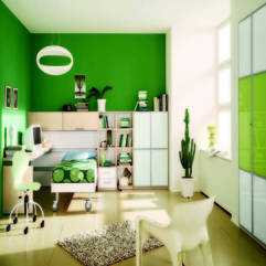 Bedroom Ideas Inspiring Green - Karbonix