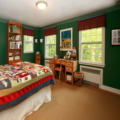 Bedroom Ideas With Bookcase Lime Green - Karbonix