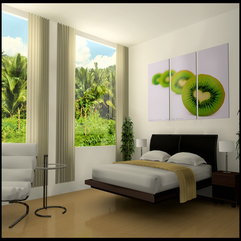 Bedroom Luxurious White Bedroom Design With Black Bed And Cool - Karbonix