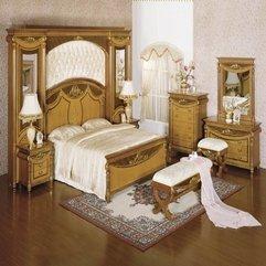 Bedroom Set Furniture Design Luxury Classic - Karbonix