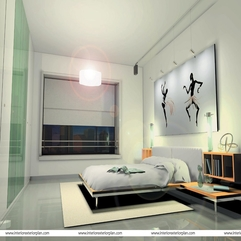 Bedroom With Beautiful White Bed The Home Sitter - Karbonix