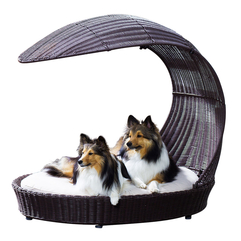 Beds Made Of Rattan With Unique Shape Beautiful Dog - Karbonix
