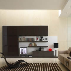 Beige And Brown Living Room Decor With Carpet And Tv Room - Karbonix