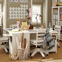 Best Inspirations : Beige Girls School Desk Sweet White - Karbonix