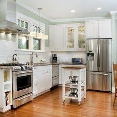 Best Design Kitchen Wood Flooring - Karbonix