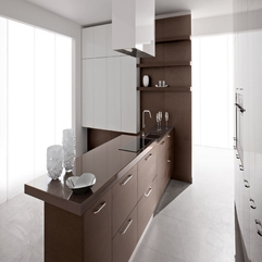 Best Design Modern Kitchen With White Color - Karbonix