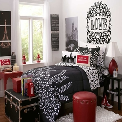 Best Design Red Black Bedroom Interior Decobizz - Karbonix