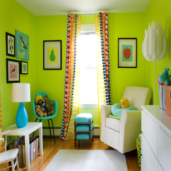 Best View Green Colored Rooms - Karbonix