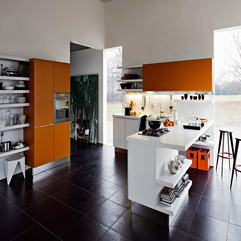 Big Kitchen Design Minimalist - Karbonix