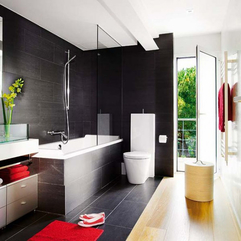 Black Bathroom Design 1 Interior Design Architecture And - Karbonix