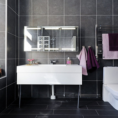Black Ceramic Makes The Bathroom Look So Elegant Part Of - Karbonix