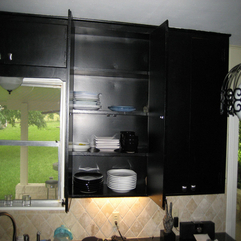 Black Kitchen Cabinets Great Design - Karbonix