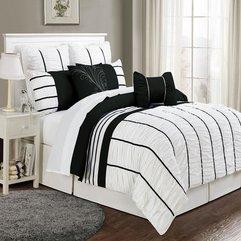 Black White Bedding Sets Classy Style - Karbonix