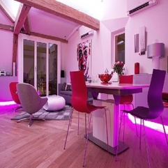 Brilliant Pink Interior Design - Karbonix