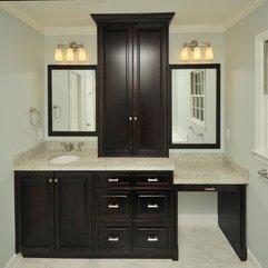 Brown Medicine Cabinet For Modern Bathroom Dark - Karbonix