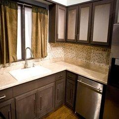 Brown Painted Kitchen Cabinets Best Modern - Karbonix