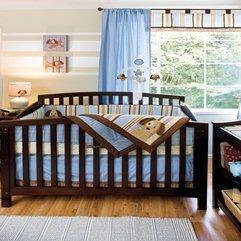 Brown Wooden Baby Nursery Bedroom Design Cute - Karbonix