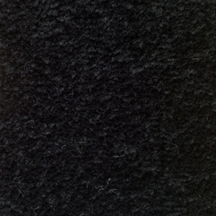 Cabaret 178 Twist Felt Back 100 Polypropylene Black Carpet From - Karbonix