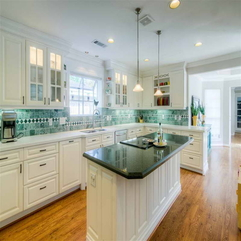 Cabinets In Kitchen With Granite Countertops Glass - Karbonix