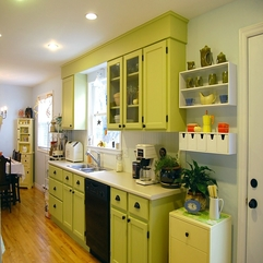 Cabinets Kitchen Astonishing Yellow - Karbonix