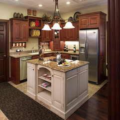 Cabinets Open Kitchen - Karbonix