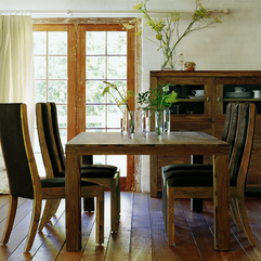Casual Antique Dining Room Design Furniture - Karbonix