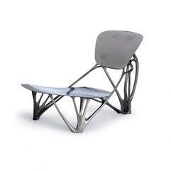 Chair With Aluminum Poured Polished By Joris Laarman Unique Bone - Karbonix