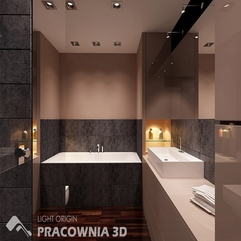 Charm Apartment Bathroom Elegant Spacious Apartment Interior - Karbonix