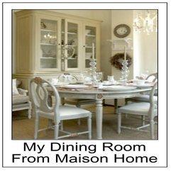Charm Decorate Dreamhouse Manhattan Brownstone Maison Home Dining - Karbonix