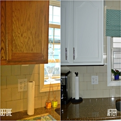 Chic Ideas Paint Kitchen Cabinets - Karbonix