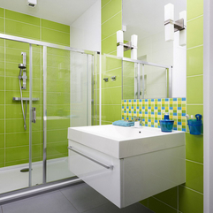 Classic Green Bathroom Inspiration Tiles Coosyd Interior - Karbonix