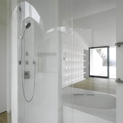 Classic Modular Urban Home White Bathroom For Design Orientation - Karbonix