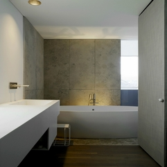 Classy Style Modern Apartment Bathroom - Karbonix
