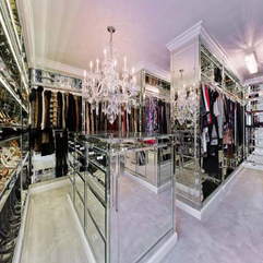 Closet Design Luxury Walk - Karbonix