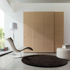 Closet With Modern Chair Unique Brown - Karbonix