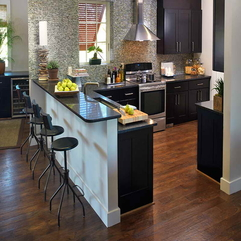 Best Inspirations : Color Trends With Black Chairs Kitchen Paint - Karbonix