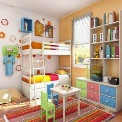 Coloredkids Room Design Decoration Full - Karbonix