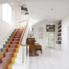 Best Inspirations : Colorful Carpet Runner For Stairs Stunning Carpet Runner For - Karbonix