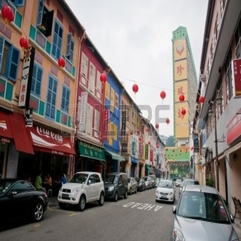 Colorful Street In Chinatown With Historical Architecture - Karbonix