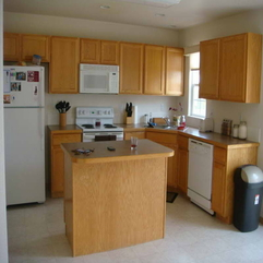 Colors With Oak Cabinets With Wood Table Kitchen Paint - Karbonix